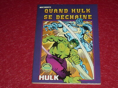 [Bd Comics Marvel France Aredit] Hulk Pocket Color # 2 - 1982 Hulk Se Dechaine
