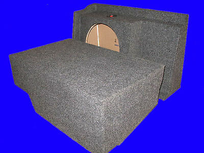 "Chevy Silverado Extended Cab 1999-07 Single 10"" Grey Driver Side Subwoofer Box"