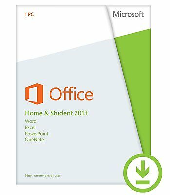 Microsoft Office Home & and Student 2013 1PC Product license for Win