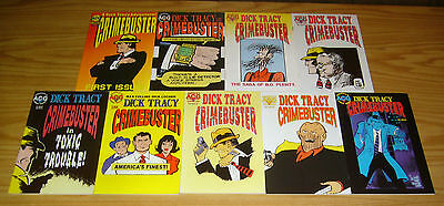 Dick Tracy: Crimebuster #1-8 VF/NM complete series + one-shot 2 3 4 5 6 7 ACG