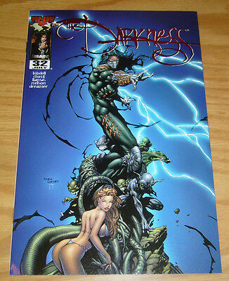 the Darkness #32 VF/NM blue tempest ruby red edition - limited to 500 - top cow