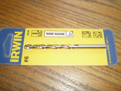 Irwin wire gauge drill bits images wiring table and diagram sample irwin drill gauge 743 picclick nip irwin wire gauge numbered drill bit 6 81106 keyboard keysfo greentooth Images