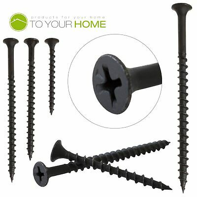 Black Bugle Head Plasterboard Drywall Screws Drylining Wood Partitions Studding