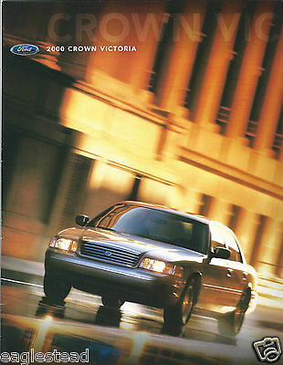 Auto Brochure - Ford - Crown Victoria - 2000  (AB888)