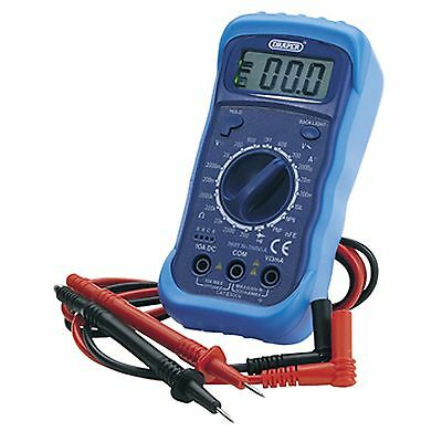 Draper Digital Electrical Multimeter with Test Light - DMM1A  - 60792