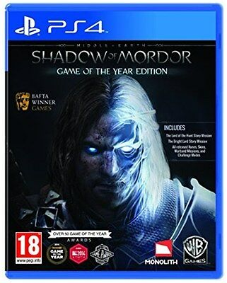 Middle-Earth: Shadow of Mordor GOTY (PS4) [NEW GAME]