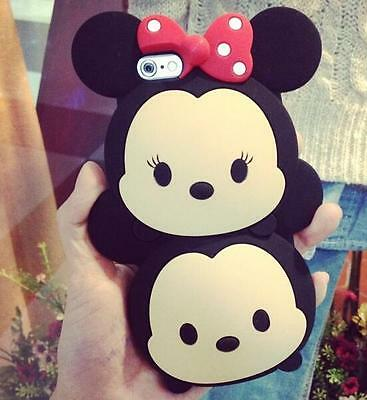TSUM TSUM Mickey & Minnie silicone Hard Case Cover For iPhone 6 /6s/6s Plus