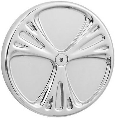 Harley FLHTCI Classic 99-06Deep Cut 5-Hole Points Cover Chr by Arlen Ness