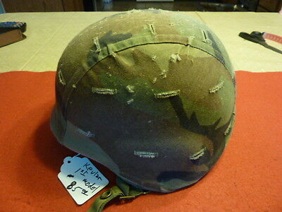 Gulf War Era KEVLAR helmet first design with cover