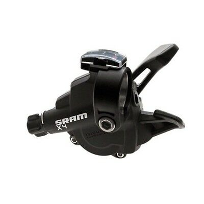 SRAM X4 Mountain Bike Trigger Shifter-Right-8 Speed-1 To 1-Black-New