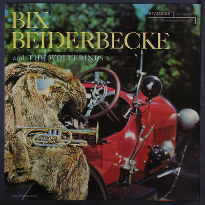 BIX BEIDERBECKE: And The Wolverines LP (Mono, sm wobc, neat clear taped seams)