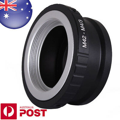 M42 Screw Lens to Micro 4/3 Four Thirds m 4/3 Mount QUALITY Adapter ring - Z487