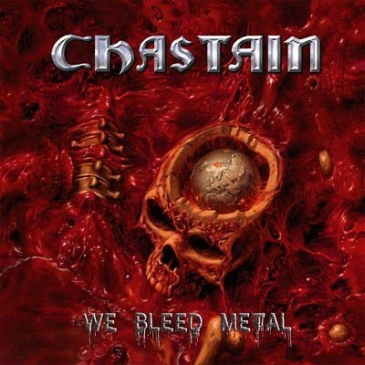 CHASTAIN - We Bleed Metal NEU!! BLACK VINYL