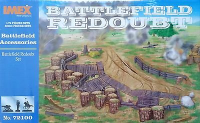 IMEX® #72100 Battlefield Redoubt Diorama Base  1:72