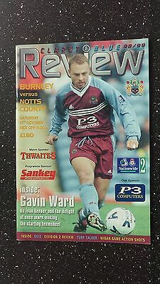Burnley V Notts County 1998-99