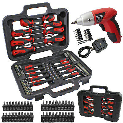 71 Pce Magnetic Tip & Cordless Screwdriver Precision Bit Set Phillips Pozi Torx