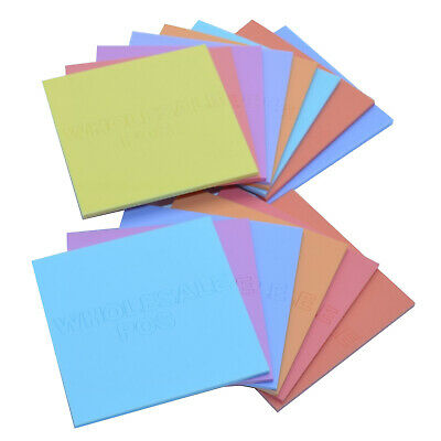 Perspex Pastel Colour Acrylic Plastic Sheet Matt one Side Gloss the Other 3mm