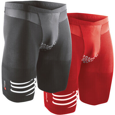 Compressport TR3 Brutal Short V2 Triathlonhose Kompression Rad Lauf Hose