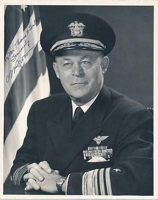 Admiral Charles R. Brown- Vintage Signed Photograph