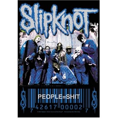 "SLIPKNOT ""PEOPLE = S**T"" Fabric Poster Oversized 30""X40"" Poster Flag NEW"