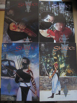 """SHADO : """"SONG of the DRAGON"""" COMPLETE 4 PART PRESTIGE SERIES.GRELL.ARROW.DC.1992"""