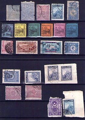 Turkey & Middle East, Early Stamp Collection 19thC Stamps, See 2 Scans