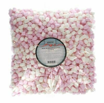 NORDTHY THYGUF MINI MARSHMALLOWS MARSH MALLOWS WEISS & ROSA 675g