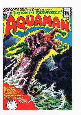 Aquaman # 32 Tryton the Terrible ! grade 8.0 scarce book !!