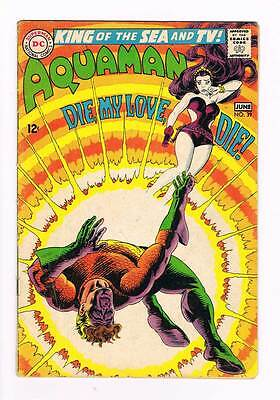 Aquaman # 39 How to Kill a Sea King ! grade 4.0 scarce book !!