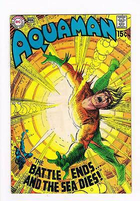 Aquaman # 49 As the Seas Die ! grade 7.5 scarce book !!