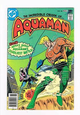 Aquaman # 58  Through a Past Darkly ! grade 4.0 scarce book !!