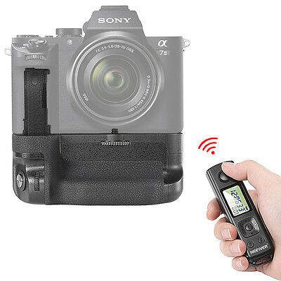 Neewer LCD 2.4GHz Wireless Remote Battery Grip Replacement f Sony A7 II Cameras