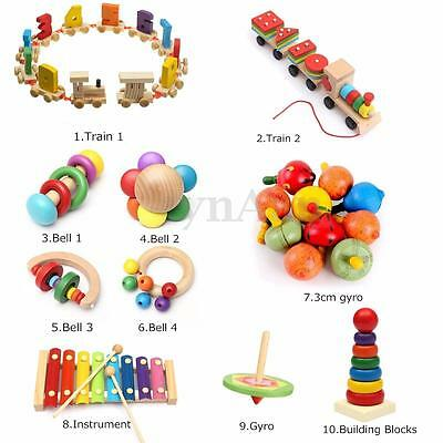 Wooden Educational Intellectual Developmental Funny Toy Xylophone Block Kid Gift