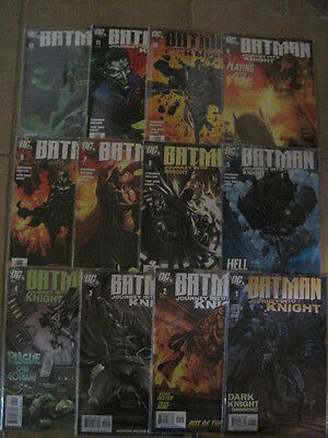 BATMAN , JOURNEY INTO KNIGHT : COMPLETE 12 issue series by HELFER & HUAT.DC 2006
