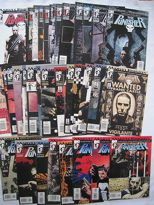 PUNISHER :COMPLETE 37 ISSUE 2001 MARVEL KNIGHTS SERIES by ENNIS,DILLON,PALMIOTTI