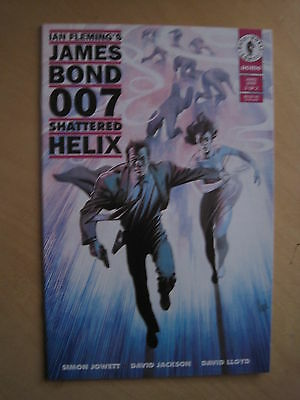 JAMES BOND : SHATTERED HELIX 2 ( of 2 ).  DAVID LLOYD. DARK HORSE COMICS. 1994