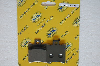 fits Scarabeo 50, 97-10 Scarabeo50 FRONT BRAKE PADS APRILIA