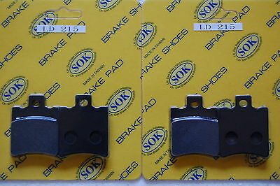 fits Rally 50, 96-00 Rally50 FRONT REAR BRAKE PADS APRILIA
