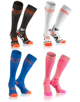 Compressport Full Socks V2.1 Laufsocke Kompression Running Socke Strumpf