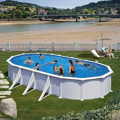 pool set stahlwand oval 3 5x7x1 20m schwimmbecken 0 6 mm folie komplett ovalpool eur. Black Bedroom Furniture Sets. Home Design Ideas