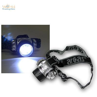 LED Headlamp / Helmet lamp with 9 LED's incl. Batteries
