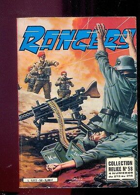 Rangers, Collection reliée n°58 (n°213 à 216), Editions Impéria, 1985 Molinari