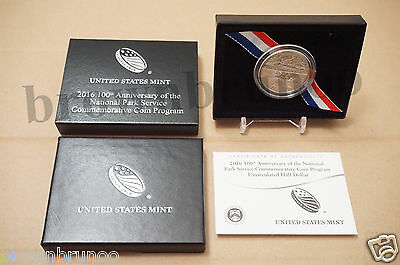 2016-D 100th Anniversary of National Park Service Uncirculated Clad Half Dollar
