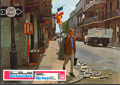 NEW ORLEANS FRENCH QUARTER original1970 lobby card movie poster PAUL NEWMAN/WUSA