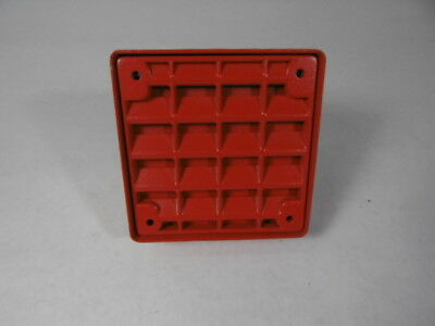 Wheelock ET-1010-R Speaker Wall Mount 8 W 75 DBA Red Vandal Resistant ! WOW !