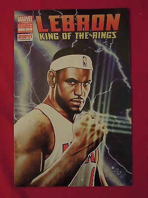 d9390aef740 2012 MARVEL COMICS Lebron James King of the Rings  1 COMIC BOOK ESPN ...