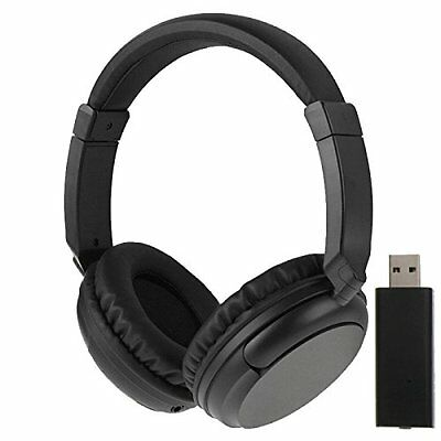Hot Sales 2.4G Hz Wireless TV Headset Over-Ear Headphone for TV Computer Laptop