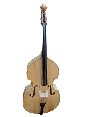 Double Bass 3/4 size new full-carved, Natural/Blonde