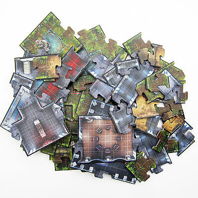 NEW Star Wars Imperial Assault Replacement Parts - 59 Map Tiles Core Game board