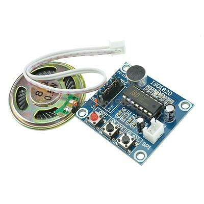 ISD1820 Sound Voice Recording Playback Module With Mic Sound Audio + Loudspeaker